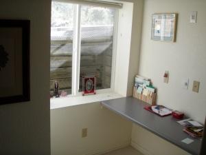 After: Built-in Desk